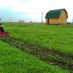 Услуги мини-трактора. Культивация